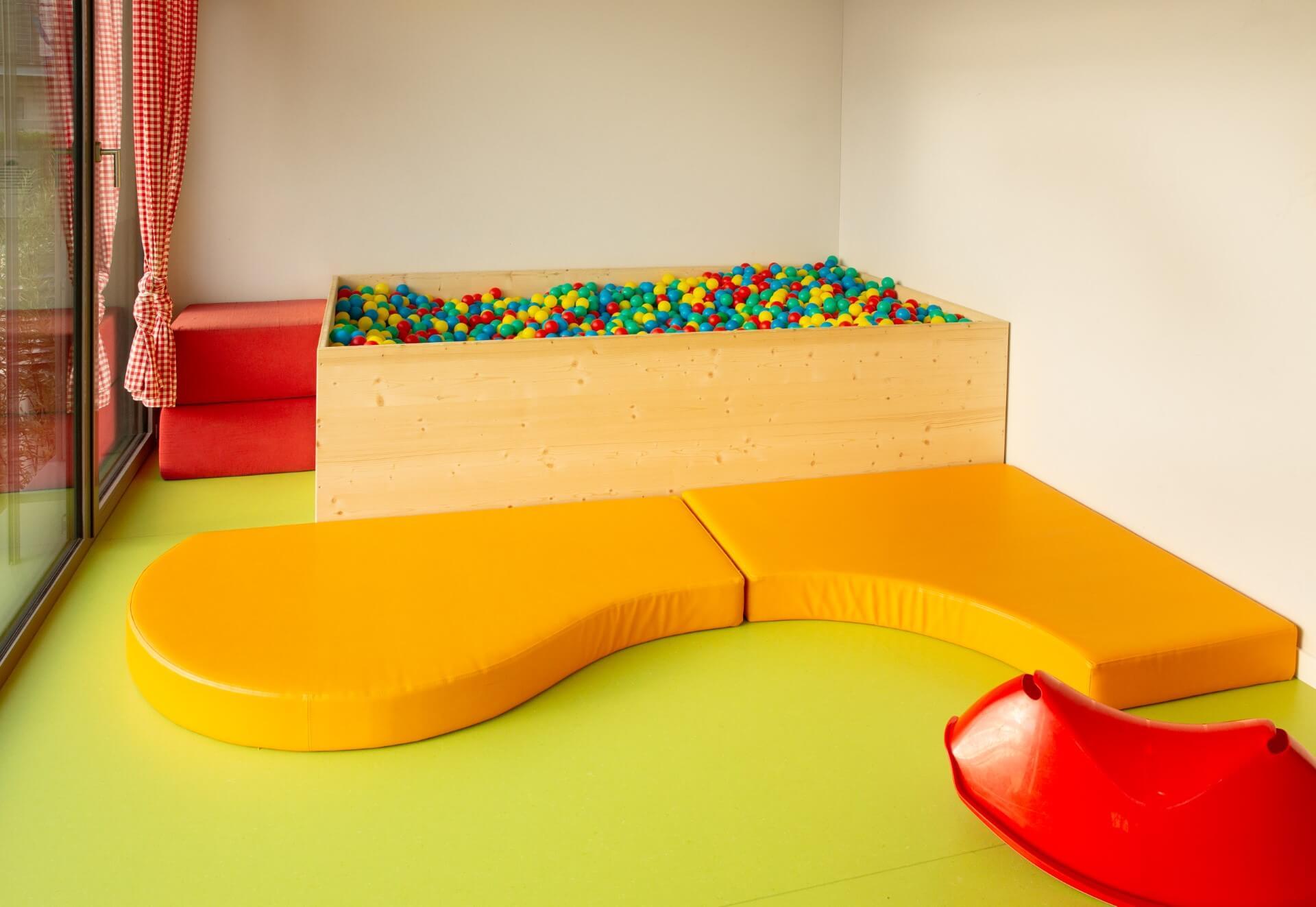 Spielecke der Kiwi Kindertagesstaette in Wiesendangen