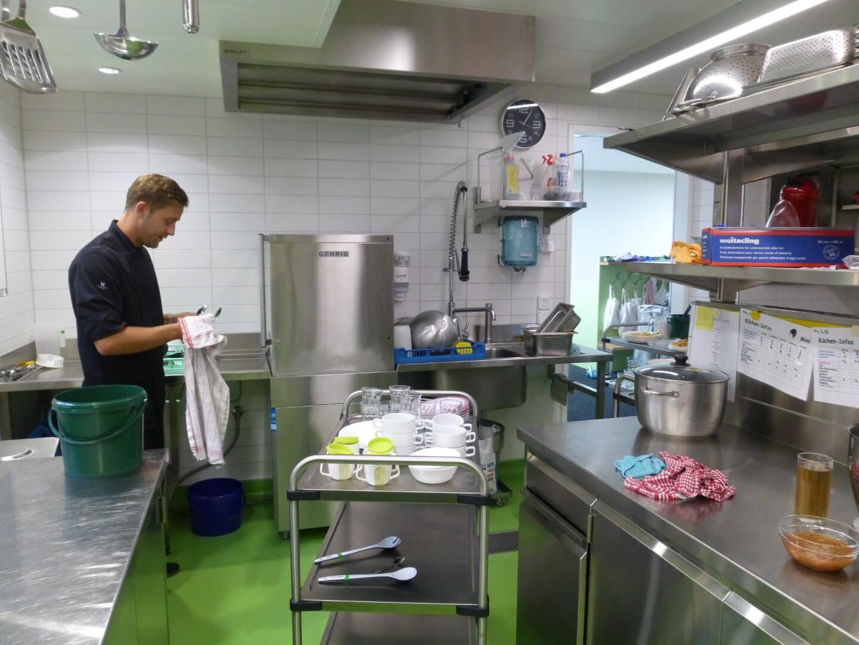 Küche Kiwi Kindertagesstätte in Wiesendangen